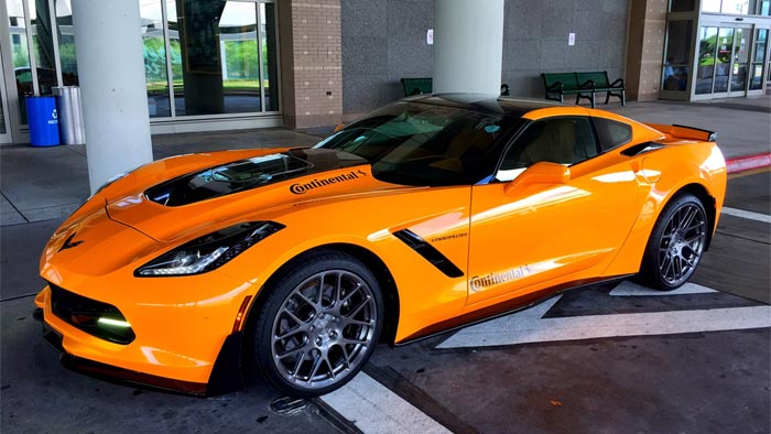 West Coast Corvette >> Corvette Stingray from Lingenfelter and Continental Tires ...
