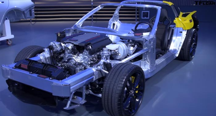 [VIDEO] GM's Global Chief Architect Gives a Tour of the C7 Corvette's Aluminum Frame