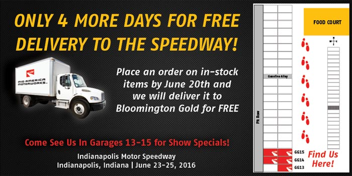 Join Mid America Motorworks at Bloomington Gold