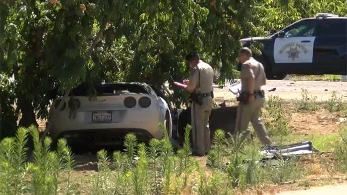[VIDEO] Man Driving Stolen Corvette Arrested After Fatal Crash with SUV