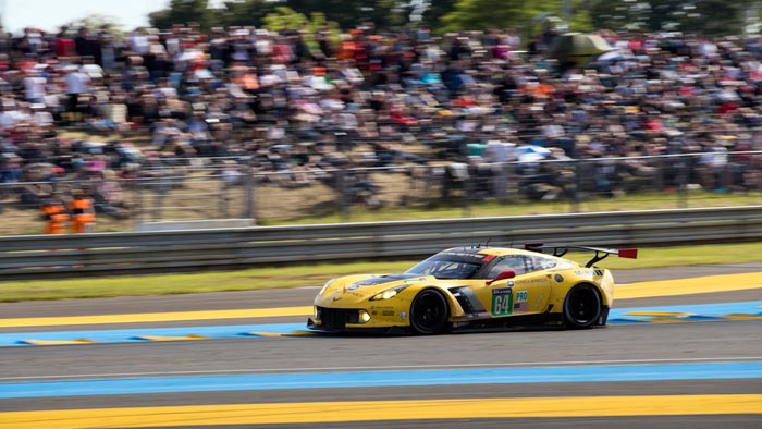 Corvette Racing Receives Invitations to Race at the 2017 24 Hours of Le Mans