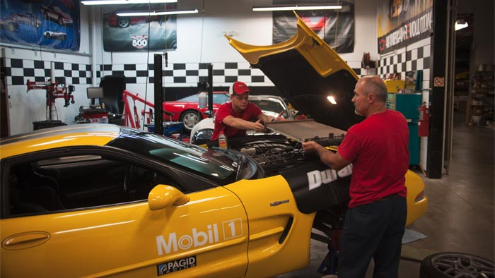 Corvette Museum Offers Look at Vehicle Maintenance and Preservation Department
