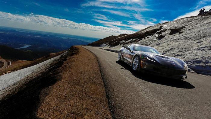 Sam Schmidt to Race Semi-Autonomous Corvette Z06 at Pikes Peak