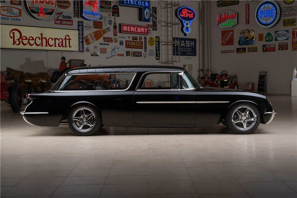 Custom lt5 powered 1955 nomad wagon is the coolest car at for Nomad scheduler