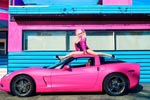 Corvettes on eBay: Angelyne's 2008 Pink Corvette
