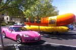 Corvettes on eBay: Angelyne's 2008 Pink Corvette