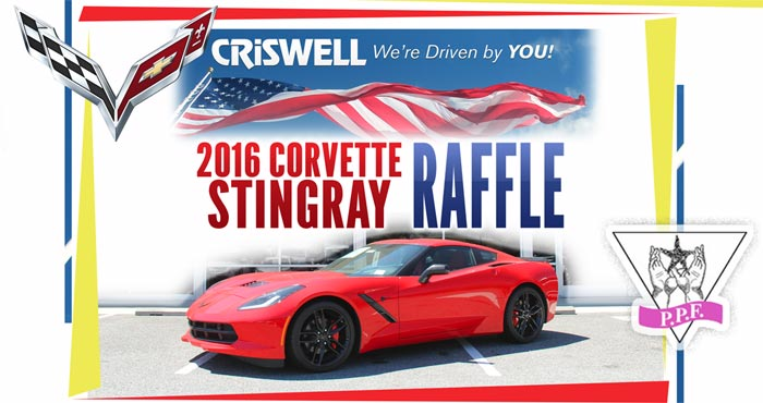 Criswell Chevrolet's 2016 Corvette Stingray Raffle to Benefit Patty Pollatos Fund