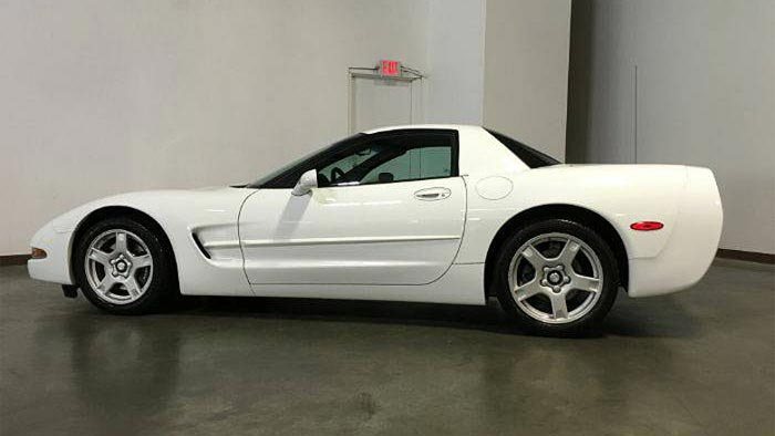 1999 Corvette FRC with 7K Miles Featured on Jalopnik