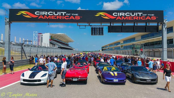 Get Ready for the 4th Annual Corvette Invasion at COTA on July 23-24