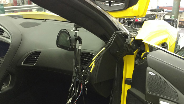 GSpeed Working to Cool Down the Corvette Z06 on the Track
