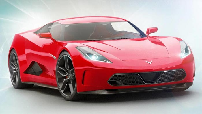 The Mid-Engined C8 Corvette Zora ZR1 Rendered