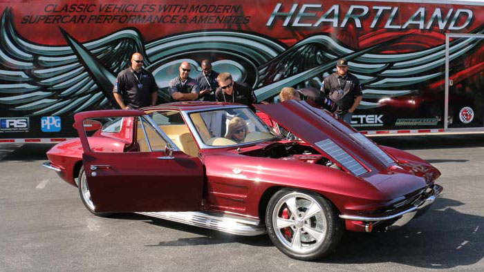 [PICS] Heartland Customs Delivers Custom 1963 Corvette at NCM
