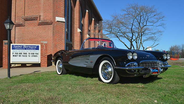 Last Call for Tickets to Win a 1961 Corvette from St