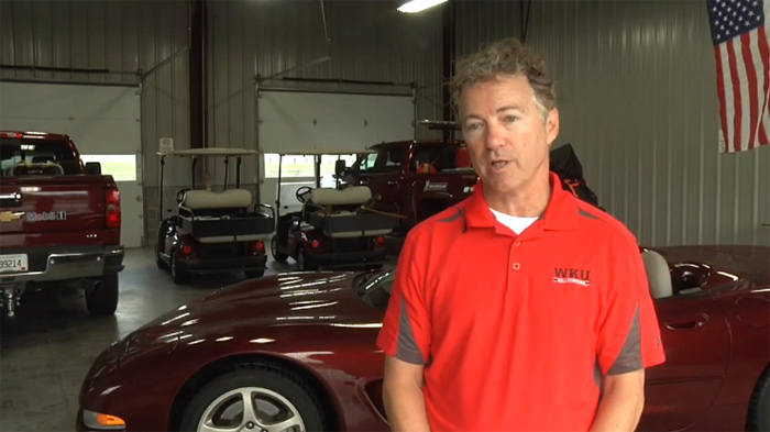 [VIDEO] Senator Rand Paul Drives a Corvette at the NCM Motorsports Park