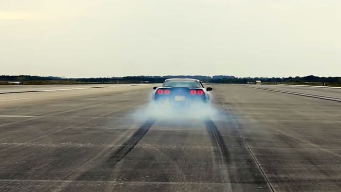 [VIDEO] Genovation GXE Breaks 205 MPH with Electric Corvette Z06