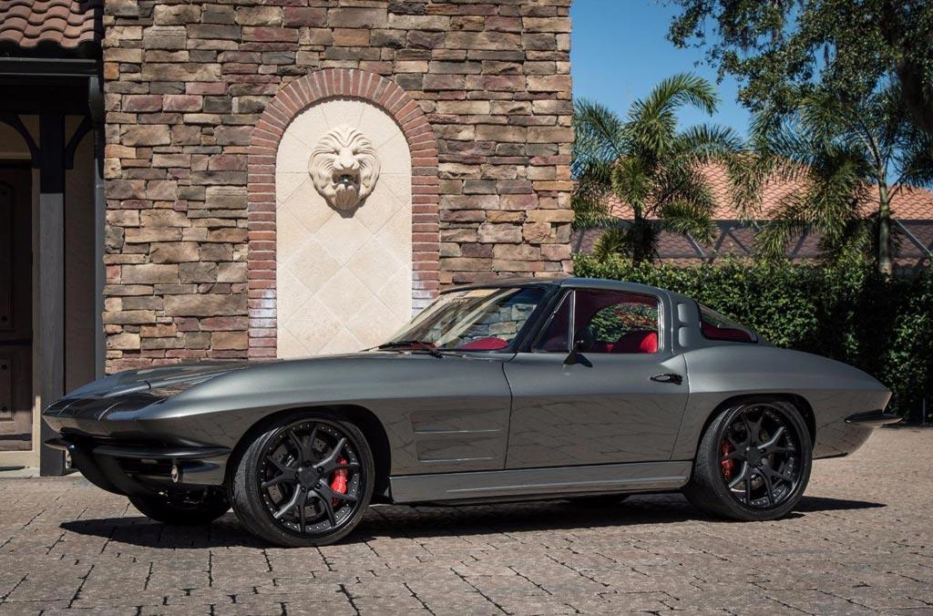corvettes on ebay  u2013 the punisher 1963 corvette is a