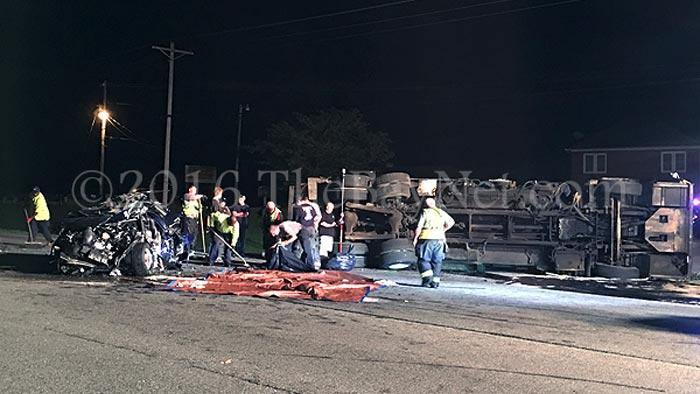[ACCIDENT] Maryland Corvette Driver Killed after Fatal Crash Flips a Garbage Truck