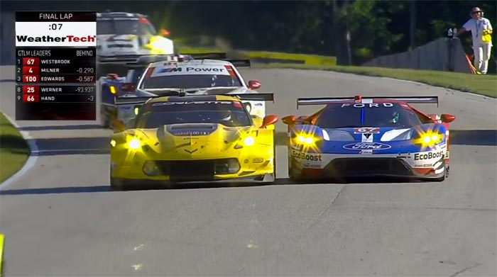[VIDEO] Watch the Final Minutes from Road America as Corvette Racing Goes from 5th to 1st in GTLM
