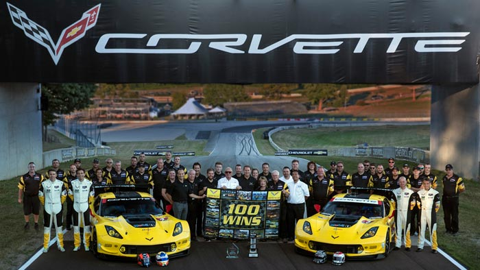 [PIC] Corvette Racing at Road America: Celebrating 100 All-Time Victories