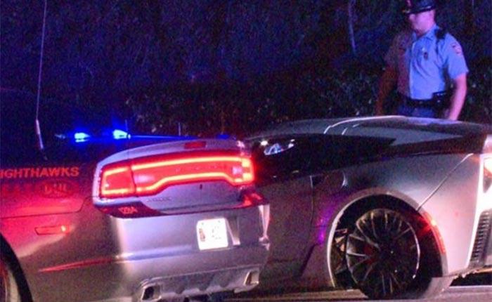 Pair of Corvettes Fleeing Georgia Cops Cause Multiple Crashes in Buckhead