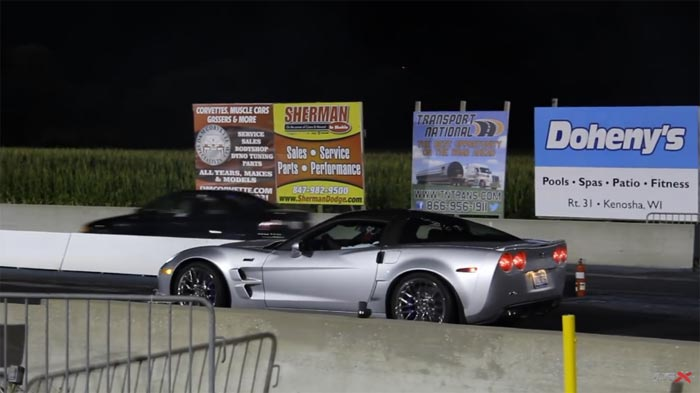 [VIDEO] Corvette ZR1 Destroys Clutch at Great Lakes Dragaway