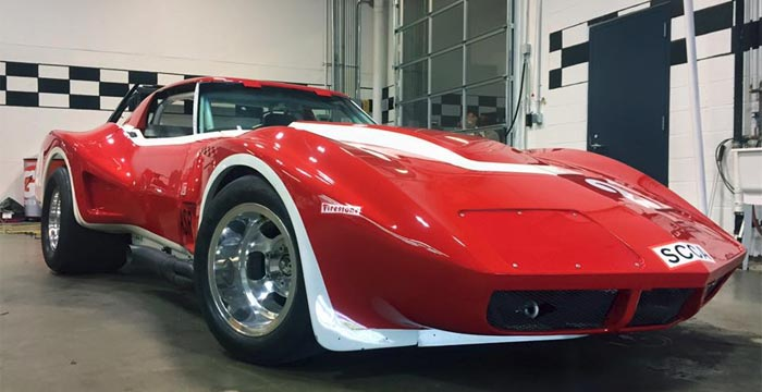 Corvette Museum Featuring Two New Corvette Racers to the Corvette Performance Display