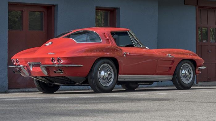 1963 corvette z06 tanker offered at mecum monterey. Black Bedroom Furniture Sets. Home Design Ideas