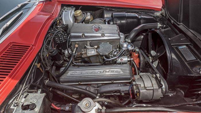 1963 Corvette Z06 Tanker Offered at Mecum Monterey