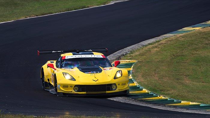 Corvette Racing at VIR: Magnussen Leads Corvette 1-2 Effort in Qualifying