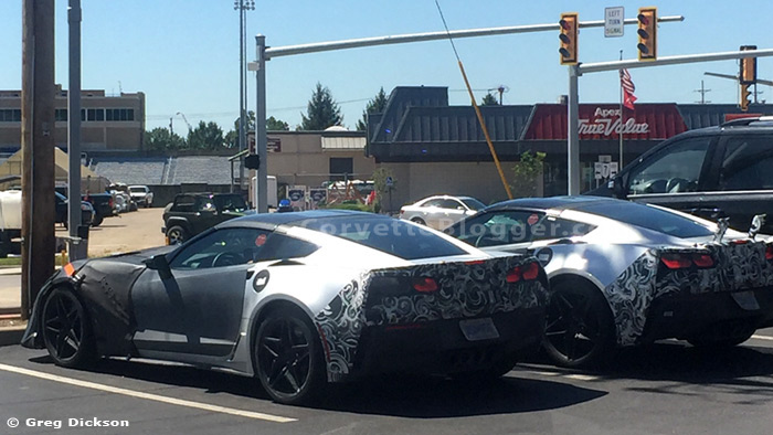 [SPIED] Two 2018 Corvette ZR1/Z06X Prototypes Captured in Public