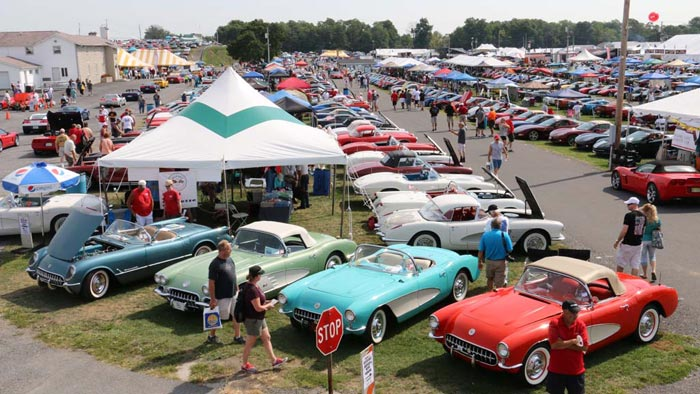 Pics The 2016 Corvettes At Carlisle Show