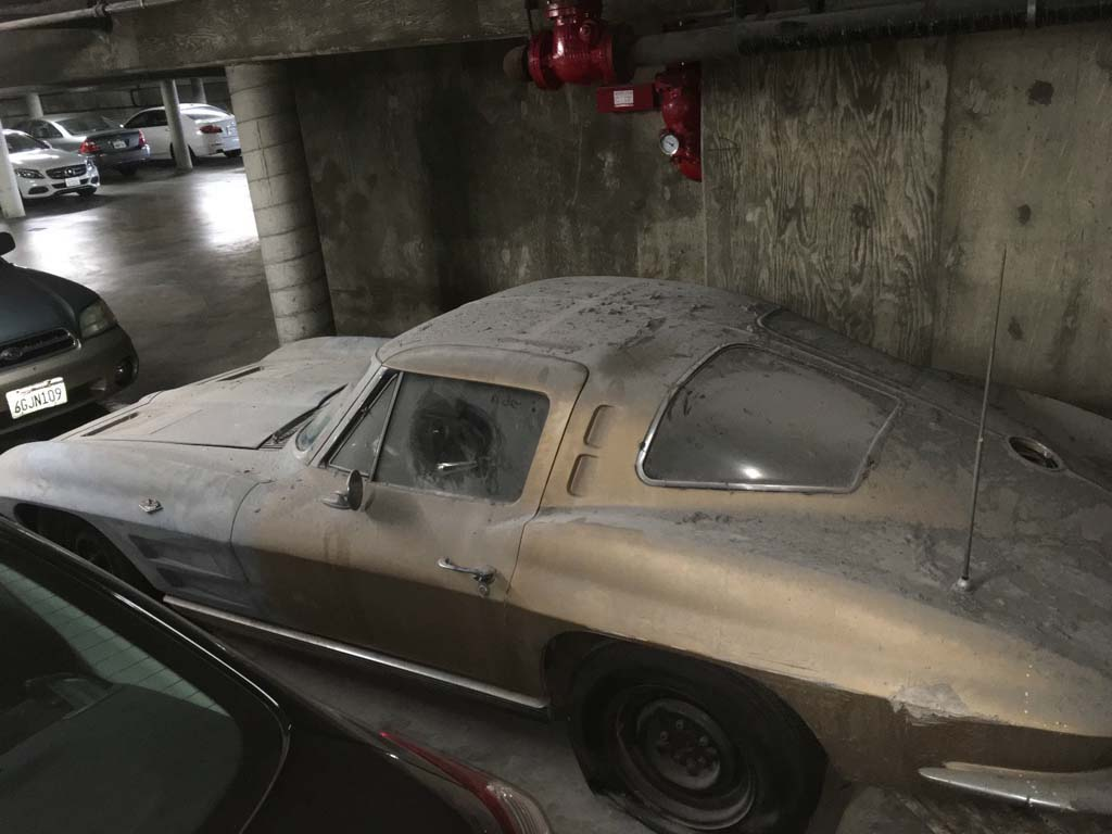 Corvettes On Ebay Los Angeles Garage Find 1963 Corvette