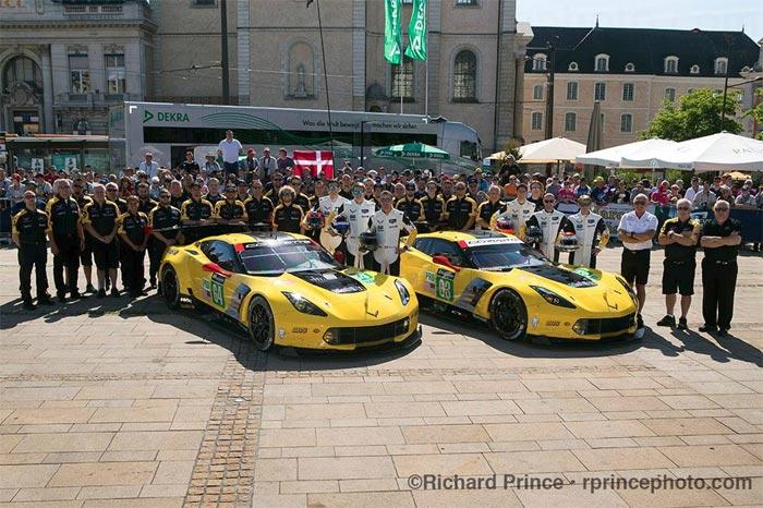 2017 Corvette Racing at Le Mans - Richard Prince