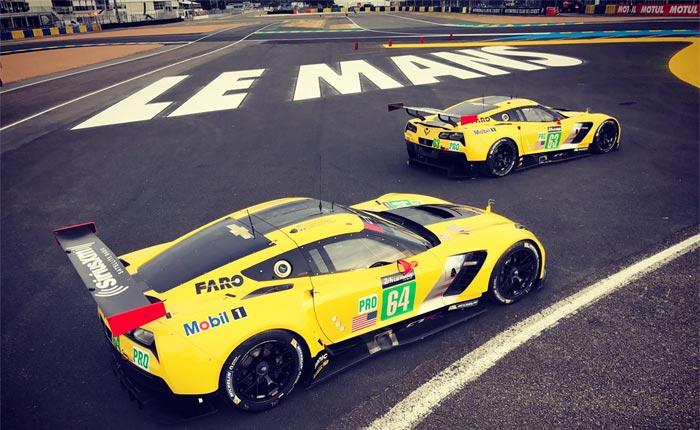 Corvette Racing: Wednesday's Le Mans Headlines