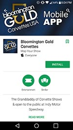 Download the Bloomington Gold Mobile App from the App Store or Google Play