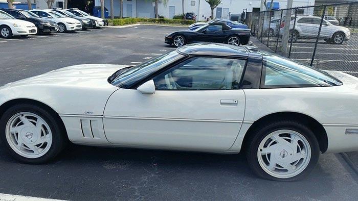 Corvettes on eBay: Survivor 1988 35th Anniversary Corvette with Manual Transmission
