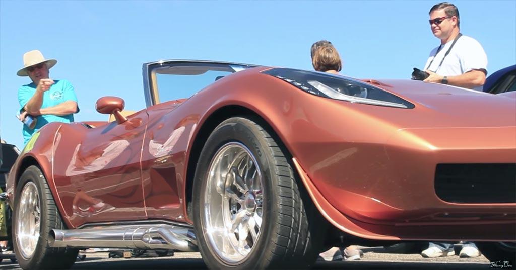 Video 1973 Corvette Receives A Custom C7 Headlight