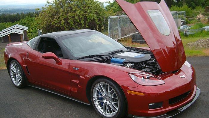 2011 Corvette ZR1 sells for $56,000