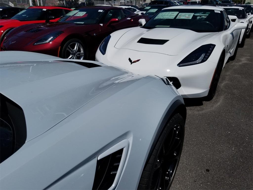 Pics New 2018 Corvette Ceramic Matrix Gray Compared To