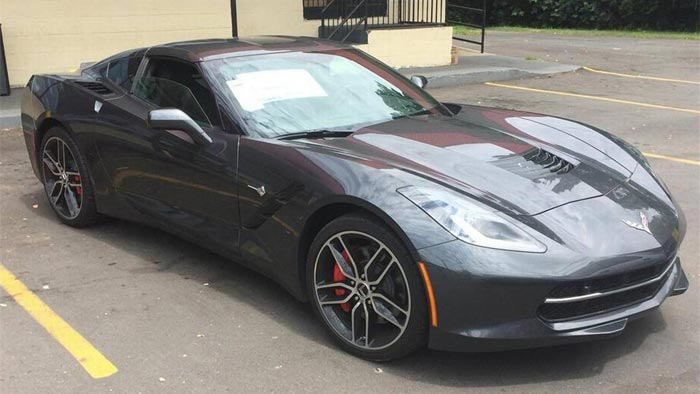 [STOLEN] Cops Track Down Stupid Criminal Who Stole a C7 Corvette From Dealership