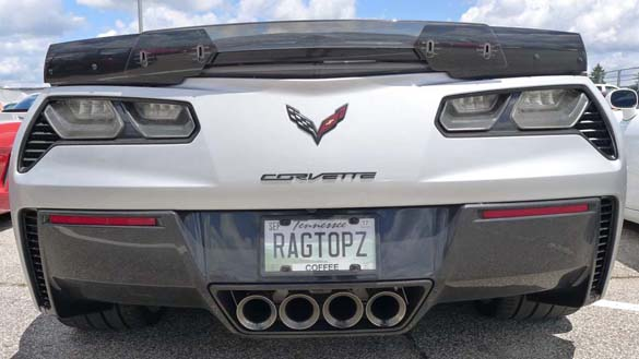 The Corvette Vanity Plates of Bloomington Gold 2017