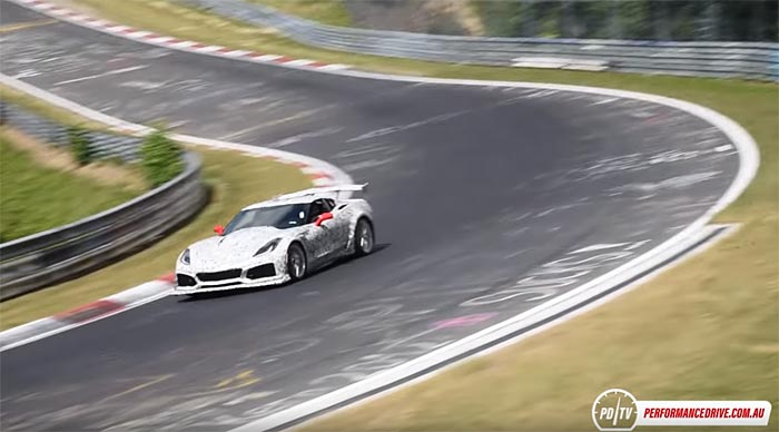 [VIDEO] Fast and Loud! Another Look at the 2018 Corvette ZR1 on the Nurburgring
