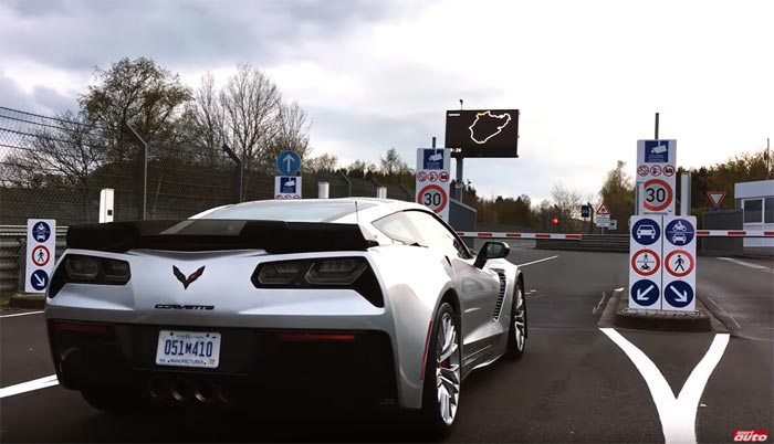 [VIDEO] Sport Auto Takes a Corvette Z06 to 7:13.9 on the Nurburgring