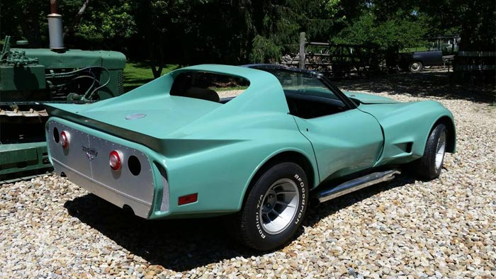 Corvettes on Craigslist: 1977 Greenwood GT Widebody Corvette