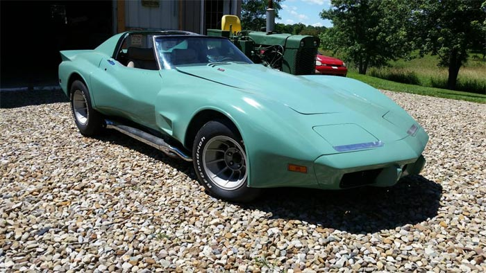 Corvettes on Craigslist: 1977 Greenwood Widebody Corvette