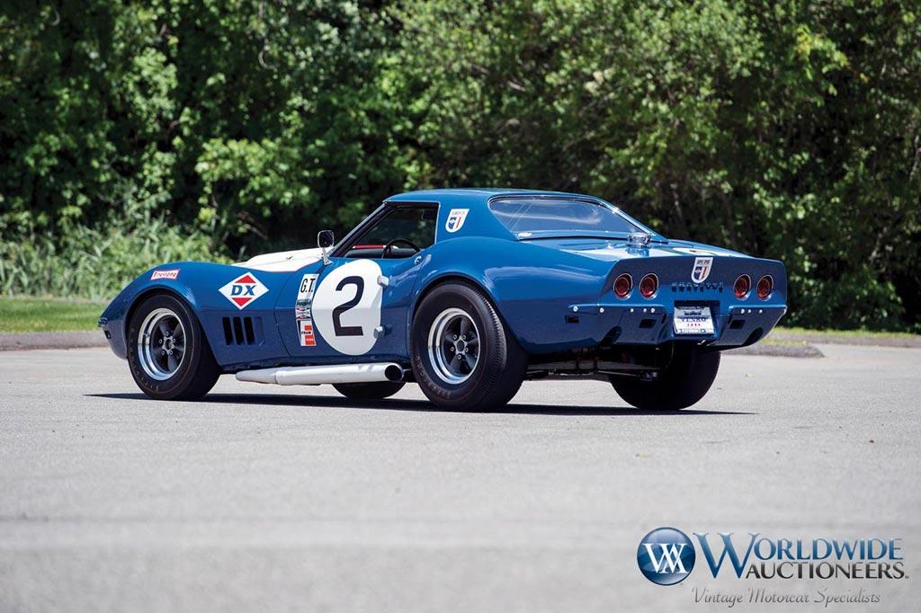 1968 Corvette L88 Sunray-DX Racer Headed to Worldwide Auctioneers' Monterey Sale - Corvette