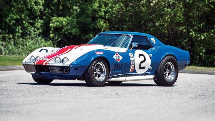 1968 Corvette L88 Sunray-DX Racer Headed to Worldwide Auctioneers' Monterey Sale