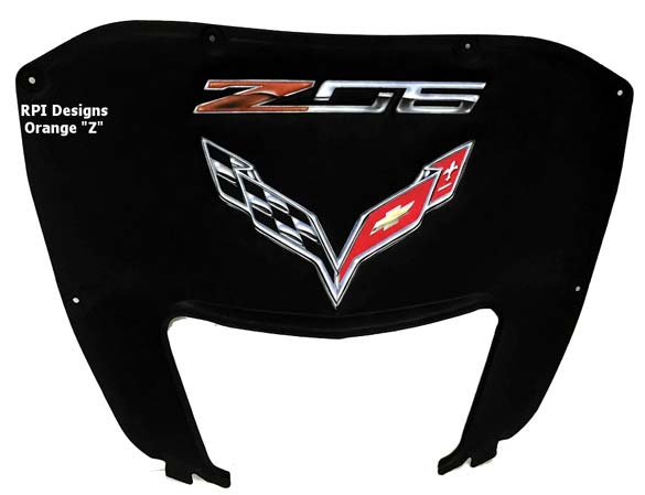 Add a Touch of Custom to your C7 Corvette Z06 with RPI Designs' Airbrushed Hood Liners