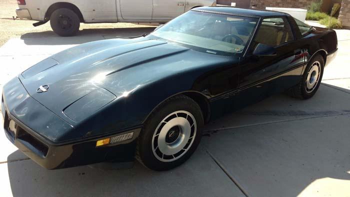 Corvettes on eBay: MLB Hall of Famer Robin Younts' 1984 Corvette