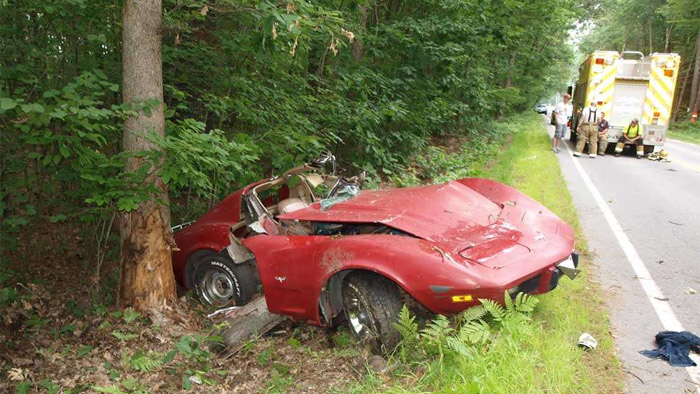 [ACCIDENT] Underage Drinking Blamed in Crash of 1977 Corvette